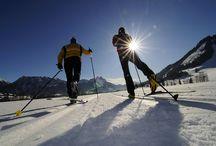 Wintersport im Tannheimer Tal / Egal ob Skifahrer, Snowboarder, Langläufer, Schneeschuhwanderer oder Spaziergänger das Tannheimer Tal hat für jeden etwas dabei. #tannheimertal