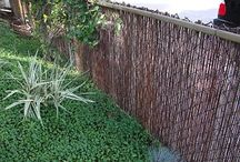 Chain link fence cover up ideas