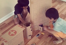 Kids: Cardboard Box Fun