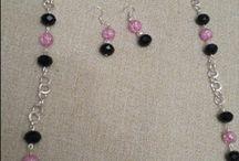 Conjuntos de collar, pulsera y pendientes