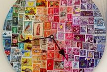 creation with stamps