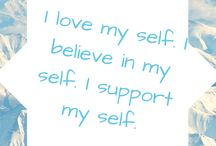 & Me - Positive Affirmations / Positive affirmations I love!