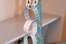 Tuto guirlande papier DIY / Tuto pour réaliser une guirlande en papier