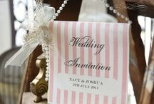 Afternoon tea Wedding / afternoon tea wedding invitation