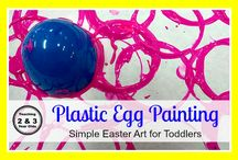 Painting and Young Children / All the different ways to paint with young children