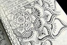 Homeschool - Art Doodling