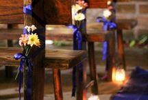 Decoração-casamento / Decoração da cerimônia e da recepção