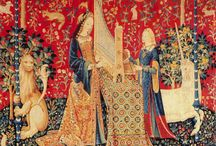 Medieval Tapestries / Our favorite cross stitch patterns based on medieval tapestries (or medieval look-alikes).