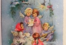 Γιορτές και εκδηλώσεις / Vintage Christmas Cards