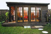 Backyard Art Studio / A place to create, just a step away