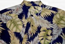 Totally Tropical ~ Camp Shirts for Men! / Men's Tropical Themed Button Front Camp Shirts