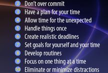 time and priorities - le gestion du temps et les priorités