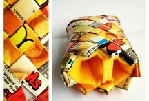Candywrapper / iPhone clutch