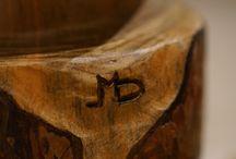 ATELIER 1 / en plein travail... la rencontre entre l'homme et le bois, la machine et la douceur... / by Didier MAURIO - Sculpteur AVEC le Bois