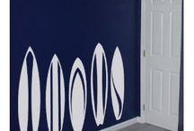 Deco sports de glisse / Idée création décoration stylé glisse