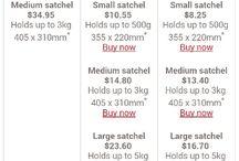 Australia Post Prepaid Parcels