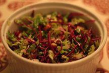 Økologisk mad / Lækkert mad lavet af økologiske råvarer