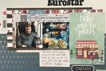 Scrapbook: Travel Layouts / scrapbook pages about travel