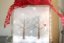Christmas / Cards and decorations