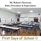 First Days of School / by Kathy Blankenship