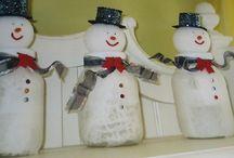 Snowmen / by Marlene Mohwinkel