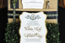 Wedding Stationary  / From save-the-dates and invitations to table numbers and place cards, the stationary plays an important part in any wedding, setting the feeling for each aspect.