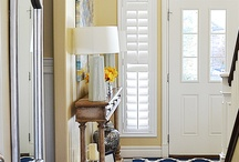 Window Treatments for Doors / Plantation shutters on doors