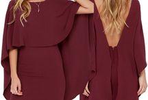 Robes/jupes/tops/tenues