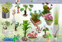 Plantes - Sims 4