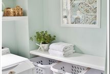 home:: laundry room. / by Angel DiMauro