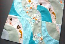 """Mermaids / Inspiration for a quilt or appliqué I'm planning """"one of those days""""..."""
