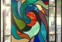 sklenené vitráže