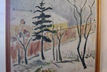 Danish Oil Painting