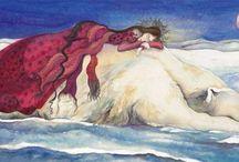 Jackie Morris' painting of bear
