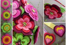 Rosallia felt ( www.fler.cz/rosallia) / Výrobky zn. Rosallia - šperky a dekorace z plsti