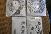 African American Stampin & Digi Stamps
