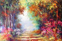 oleos paisajes