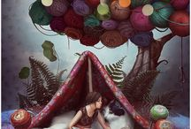 Art of Knitting / Artful depiction of knitting / by Blackbird Adventures