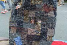 boro and sashiko embroidery