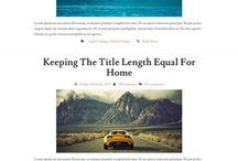 Blog Design Moodboard