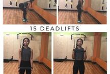 Mini band exercises
