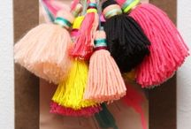 Tassels and decorations