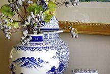 mavi ve beyaz