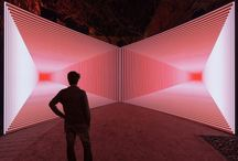 Altered Environments / Lighting, space, media used to create and interior environment.