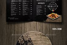 Different Countires Food Menu Designs