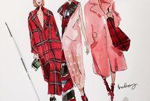 fashion ilustrace