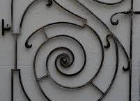 art nouveau blacksmith