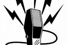 Microfones Antigos