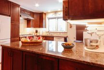 Contemporary Cherry Kitchen Design