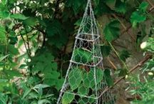 Chicken Wire / Inspiration for outdoor projects made from chicken wire.